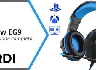 Mpow EG9: gaming headset - Recensione completa