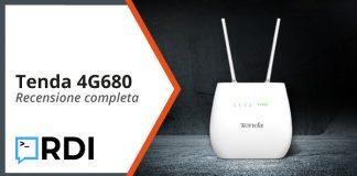 Tenda 4G680 router 4G LTE - Recensione completa