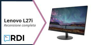 Lenovo L27i - Recensione completa