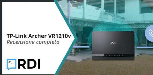 TP-Link Archer VR1210v - Recensione completa