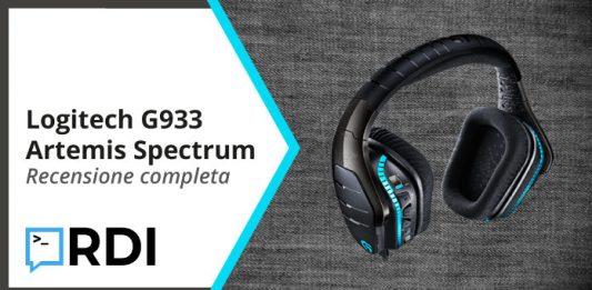 Logitech G933 Artemis Spectrum - Recensione completa