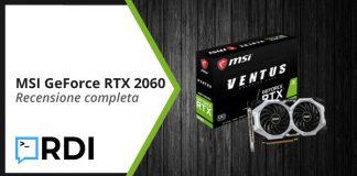 MSI GeForce RTX 2060 VENTUS XS 6G - Recensione completa