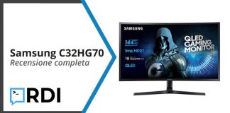 samsung C32HG70 recensione