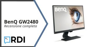 BenQ GW2480 recensione