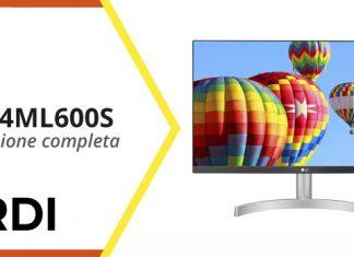 LG 24ML600S - Recensione completa
