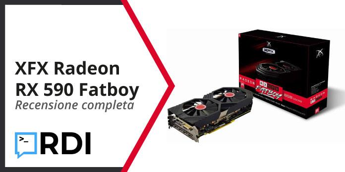 XFX Radeon RX 590 Fatboy - Recensione completa