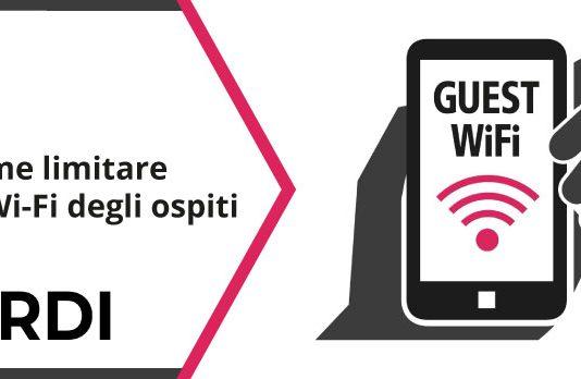 Come limitare la Wi-Fi degli ospiti