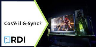 Cos'è il G-Sync?