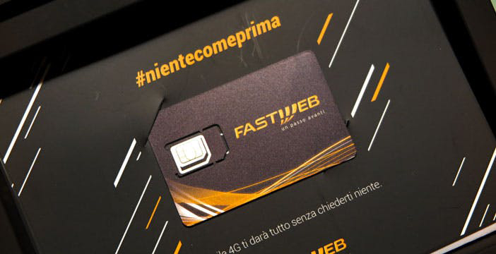 sim fastweb