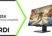 HP 25X Gaming Monitor - Recensione completa