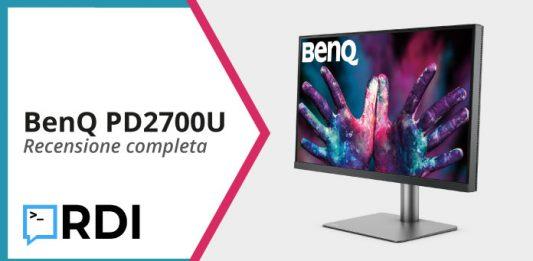 BenQ PD2700U recensione
