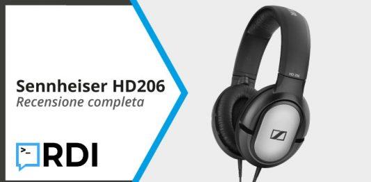 Sennheiser HD 206 - Recensione completa