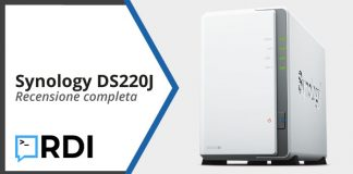 Synology DS220J NAS - Recensione completa