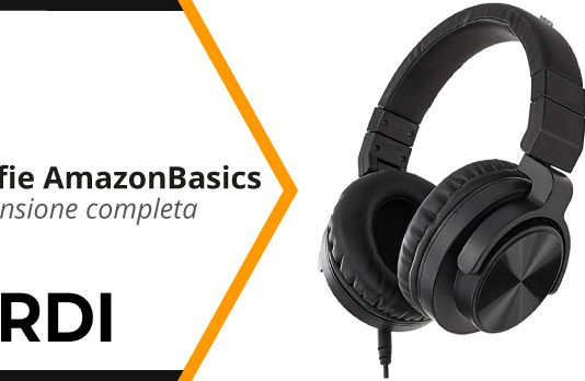 AmazonBasics Cuffie Bluetooth - Recensione completa