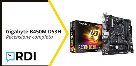 Gigabyte B450M DS3H - Recensione completa