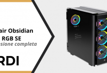 Corsair Obsidian 500D RGB SE - Recensione completa