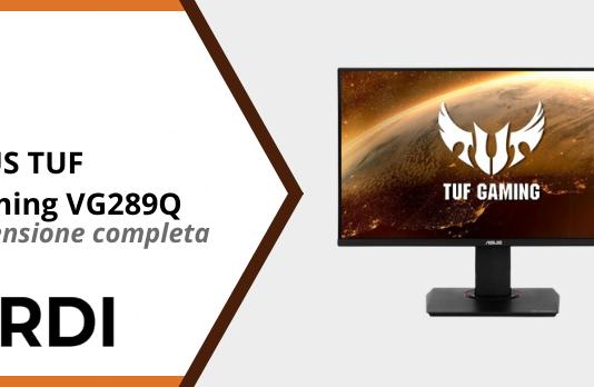 ASUS TUF Gaming VG289Q - Recensione completa