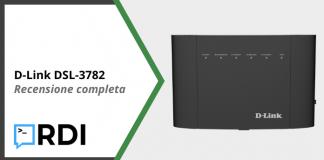 D-Link DSL-3782 - Recensione completa