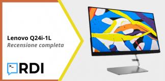 Lenovo Q24i-1L - Recensione completa