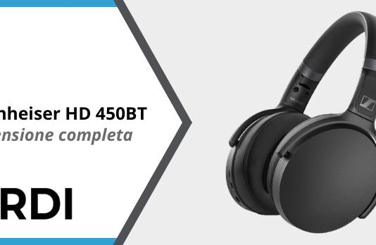 Sennheiser HD 450BT - Recensione completa