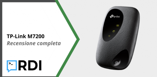TP-Link M7200 Router 4G - Recensione completa