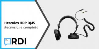 Hercules HDP DJ45 - Recensione completa