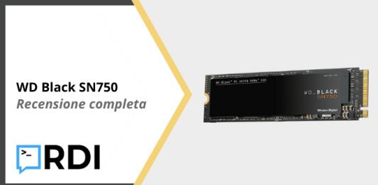 WD Black SN750 SSD - Recensione completa