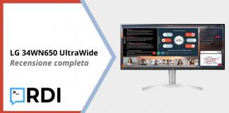 LG 34WN650 UltraWide - Recensione completa