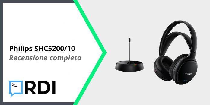 Philips SHC5200/10 Wireless - Recensione completa