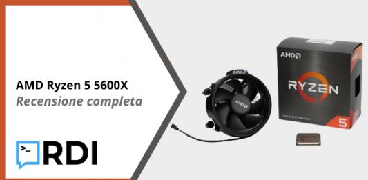 AMD Ryzen 5 5600X - Recensione completa