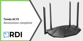 Tenda AC19 Router WiFi - Recensione completa